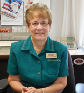 Cindy Eckerson, Administrative Assistant